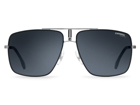 Carrera - 1006 Ruthenium Matte Black Sunglasses / Gray Blue Polarized Lenses