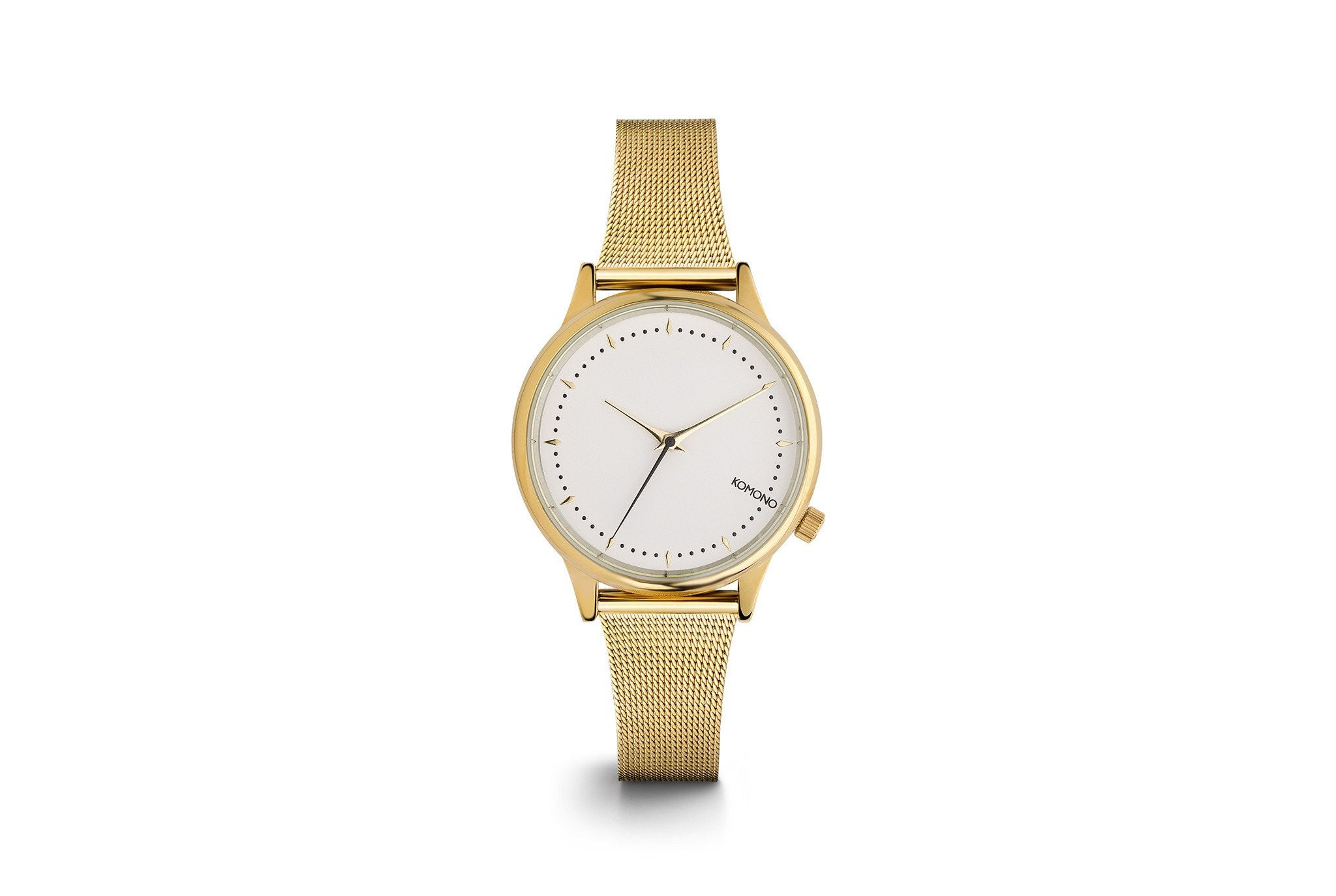 Komono - Estelle Royale Gold White Watch