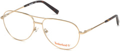 Timberland - TB1630 Gold Eyeglasses / Demo Lenses
