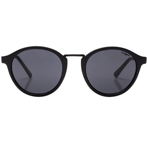 Le Specs - Paradox Matte Black Sunglasses / Smoke  Lenses