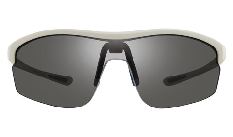 Revo - Edge 64mm White Sunglasses / Graphite Lenses