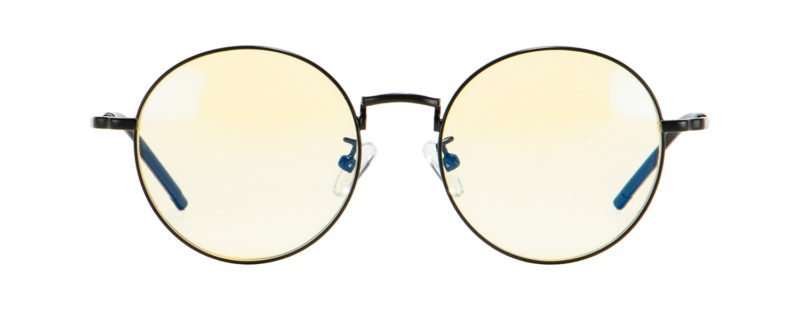 Gunnar - Ellipse Onyx Eyeglasses / Amber Blue Light Lenses