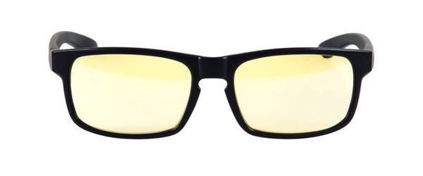 Gunnar - Enigma Onyx Eyeglasses / Amber Blue Light Lenses