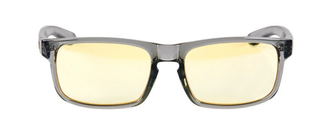 Gunnar - Enigma Smoke Eyeglasses / Amber Blue Light Lenses