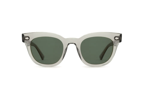 Spy Montana Asian Fit 54mm Soft Matte Black Sunglasses / Happy Gray Green Polarized Lenses