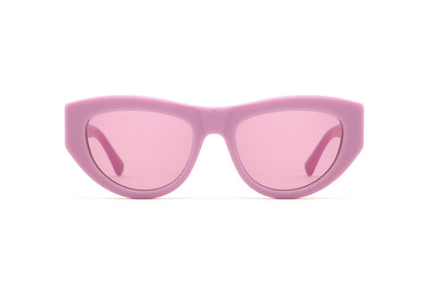Epokhe - Candy Mauve Polished Sunglasses / Velvet Lenses