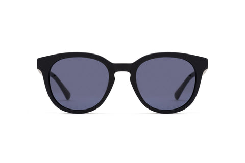 Epokhe - Anteka 2.0 18S2 51mm Matte Black Sunglasses / Black Lenses