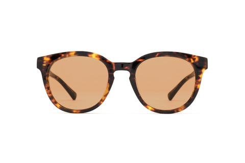Epokhe - Anteka 2.0 18S2 51mm Tortoise Polished Sunglasses / Gold Lenses