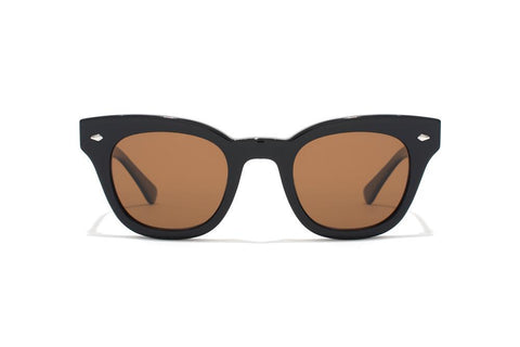 Epokhe - Dylan 49mm Black Gloss Sunglasses / Bronze Polarized Lenses