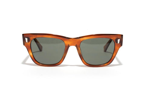 Epokhe - Non 51mm Havana Polished Sunglasses / Bronze Lenses