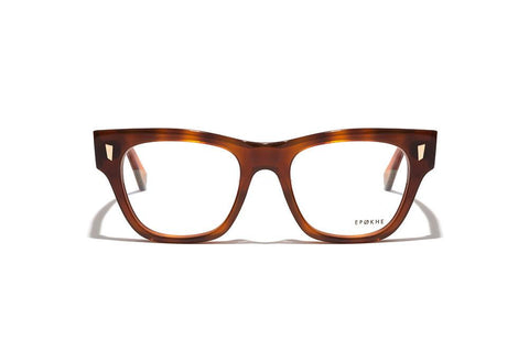 Epokhe - Non 51mm Havana Polished Eyeglasses / Demo Lenses