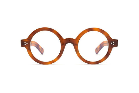 Epokhe - Ollo 46mm Havana Polished Eyeglasses / Demo Lenses