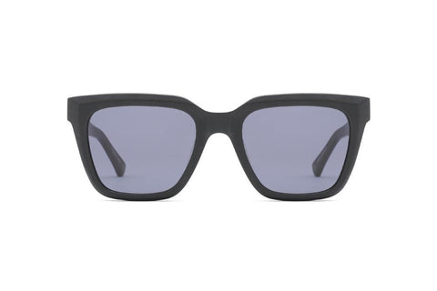 Epokhe - Valentine 52mm Matte Black Sunglasses / Black Lenses