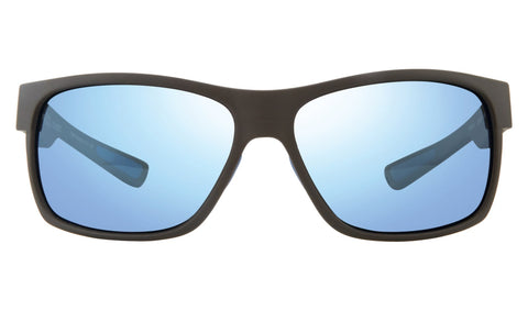 Revo - Espen Bear Grylls 59mm Matte Black Sunglasses / Blue Water Polarized Lenses