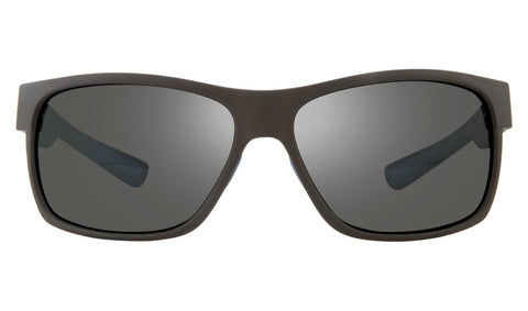 Revo - Espen Bear Grylls 59mm Matte Black Sunglasses / Graphite Polarized Lenses