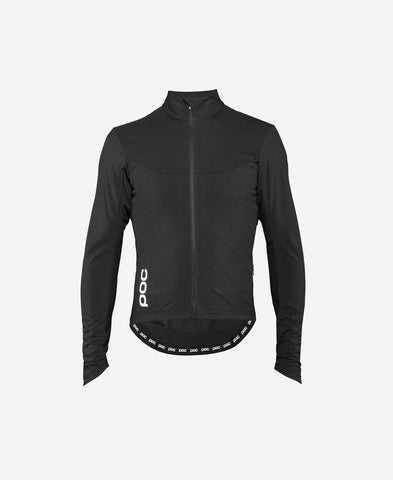 POC - Essential Road Windproof Uranium Black Jersey