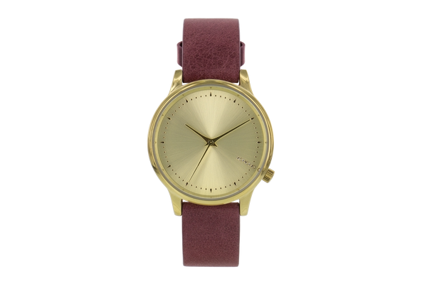 Komono - Estelle Classic Burgundy Watch