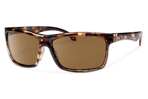 Forecast - Ajay Tortoise Sunglasses, Brown Lenses