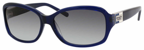 Kate Spade - Annika S Navy Sunglasses / Gray Gradient Lenses