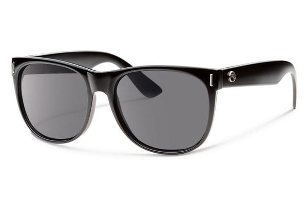 Forecast - Avery Black Sunglasses, Gray Lenses