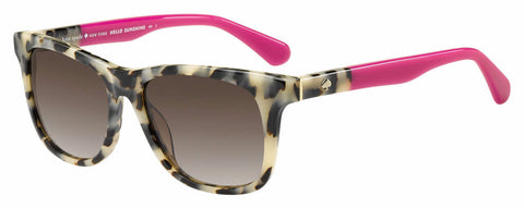 Kate Spade - Charmine S Havana Pink Sunglasses / Brown Gradient Lenses