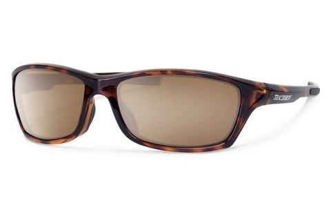 Forecast - Chet Tortoise Sunglasses, Brown Mirror Lenses