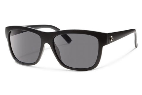 Forecast - CID Matte Black Sunglasses, Gray Lenses