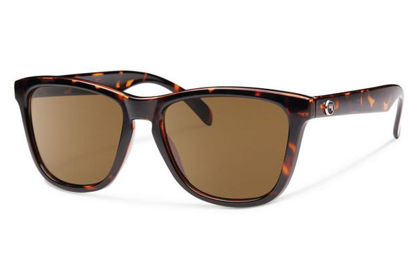 Forecast - Jan Tortoise Sunglasses, Brown Lenses