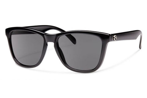 Forecast - Jan Black Sunglasses, Gray Lenses