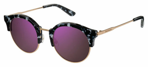 Juicy Couture - Ju 601 S Black Marble Sunglasses / Dark Gray Gradient Lenses