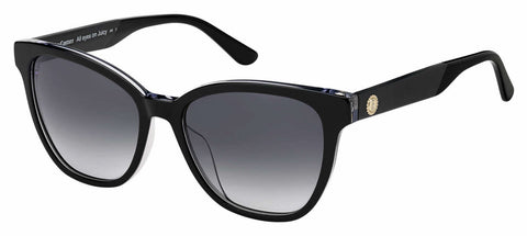 Juicy Couture - Ju 603 S Black Sunglasses / Dark Gray Gradient Lenses