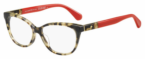 Kate Spade - Karlee 53mm Havana Red Eyeglasses / Demo Lenses