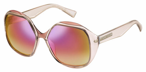 Marc Jacobs - Marc 195 S Nude Sunglasses / Multipink Lenses