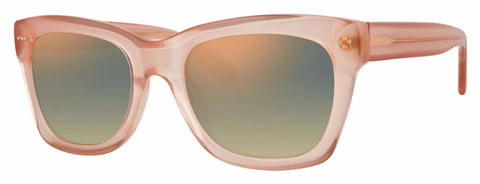 Banana Republic - Margeaux Pink Sunglasses / Gray Rose Gold Lenses