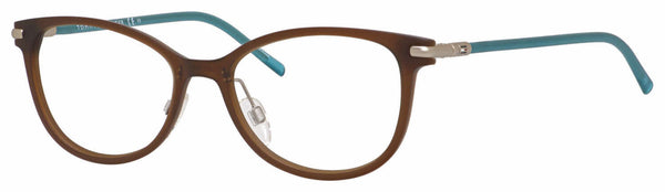 Tommy Hilfiger - Th 1398 Brown Turquoise Eyeglasses / Demo Lenses