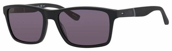 Tommy Hilfiger - Th 1405 S Black Matte Black Sunglasses / Gray Lenses