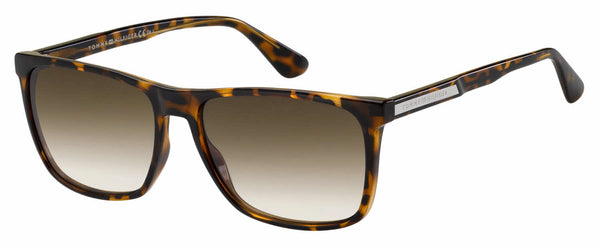 Tommy Hilfiger - Th 1547 S Dark Havana Sunglasses / Brown Gradient Lenses