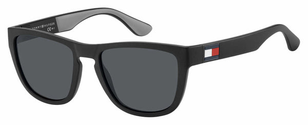 Tommy Hilfiger - Th 1557 S Black Gray Sunglasses / Gray Blue Lenses