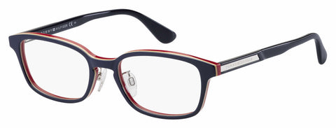 Tommy Hilfiger - Th 1565 F Multicolor Blue Eyeglasses / Demo Lenses