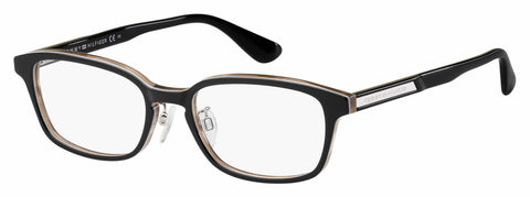 Tommy Hilfiger - Th 1565 F Black Multicolor Eyeglasses / Demo Lenses