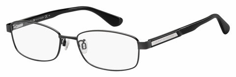 Tommy Hilfiger - Th 1566 F Matte Black Eyeglasses / Demo Lenses