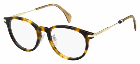 Tommy Hilfiger - Th 1567 F Dark Havana Eyeglasses / Demo Lenses