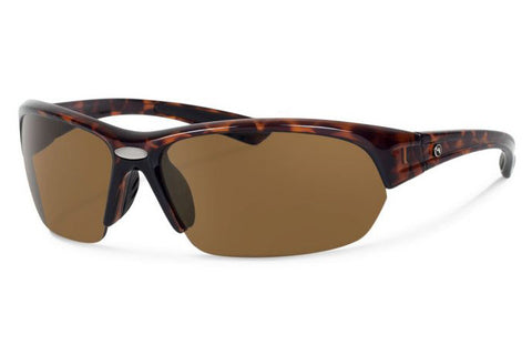 Forecast - Thad Tortoise Sunglasses, Brown Polarized Lenses