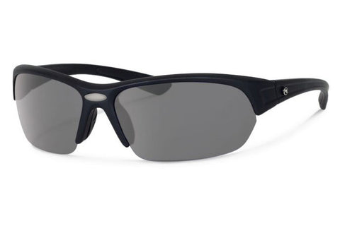 Forecast - Thad Black Sunglasses, Gray Polarized Lenses