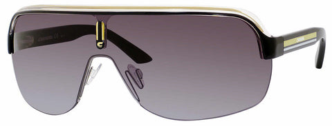 Carrera - Topcar 1 Black Crystal Yellow Sunglasses / Gray Gradient Lenses