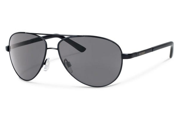Forecast - Trapper Black Sunglasses, Gray Polarized Lenses