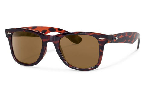 Forecast - Ziggie Tortoise Sunglasses, Brown Lenses