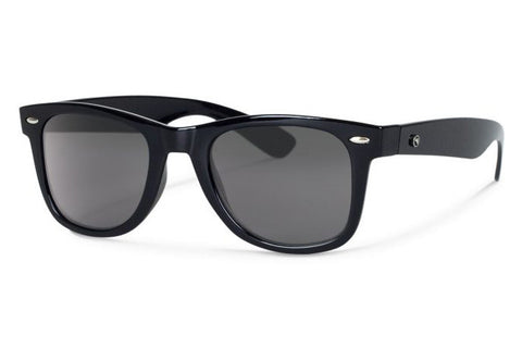 Forecast - Ziggie Black Sunglasses, Gray Polarized Lenses