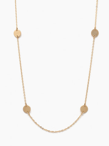 ABLE - Grande Halcyon Gold Necklace
