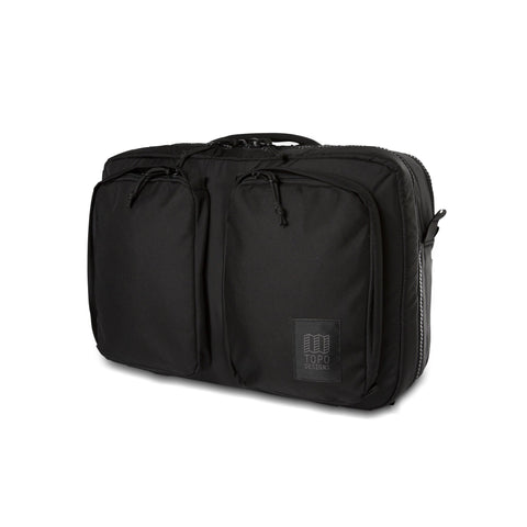 Topo Designs -  Ballistic Black Unisex Global 3 Day Briefcase